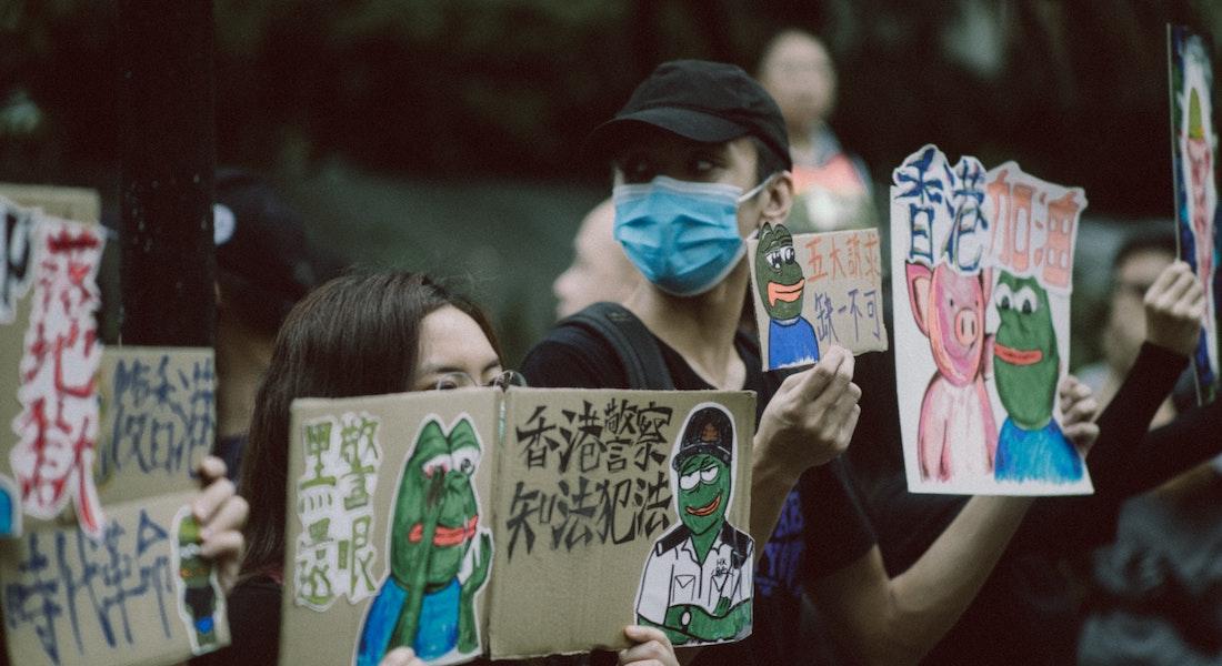 Menneskerettigheder protest