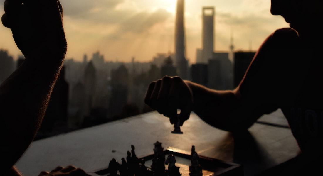 Rooftop shanghai chess