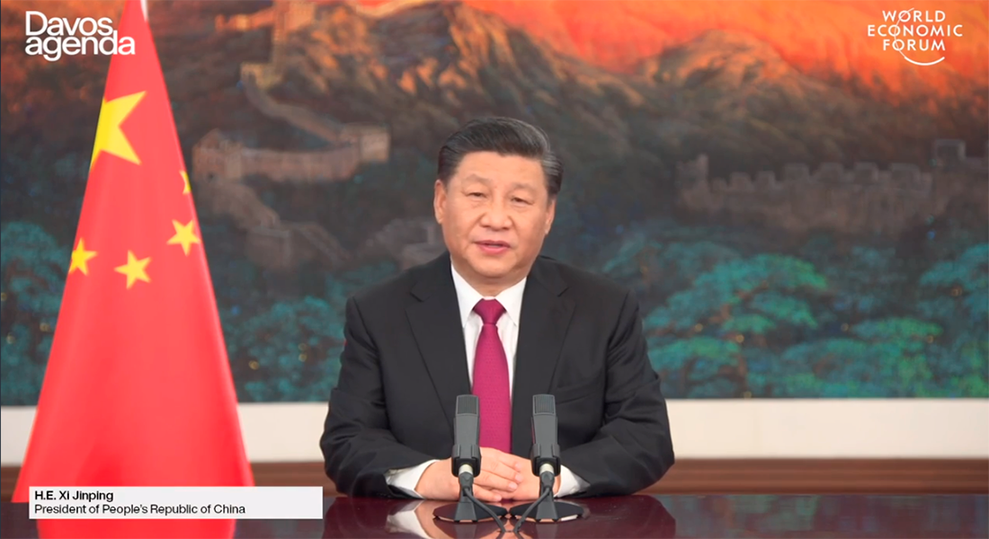 Xi Jinping World Economic Forum 2021